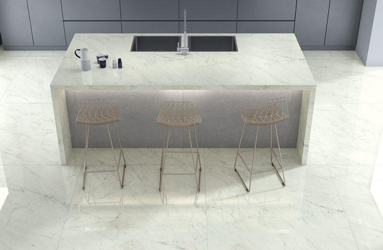 porcelanato em móveis