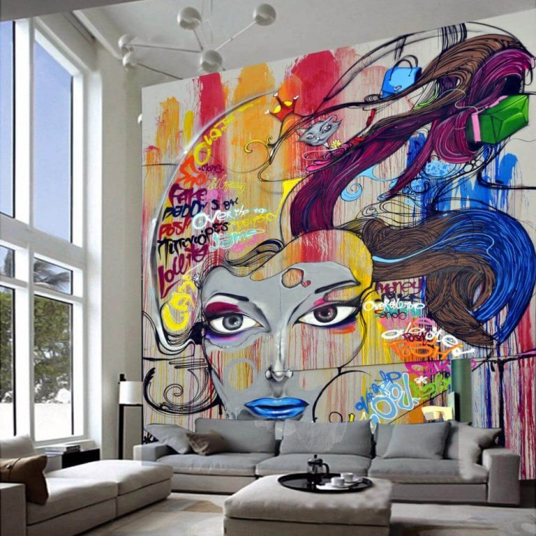 grafite na decoração