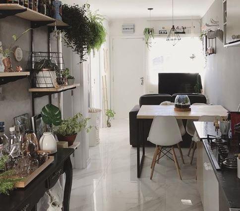 Projeto @residenciadois - Produto Calacata Lux 82x82