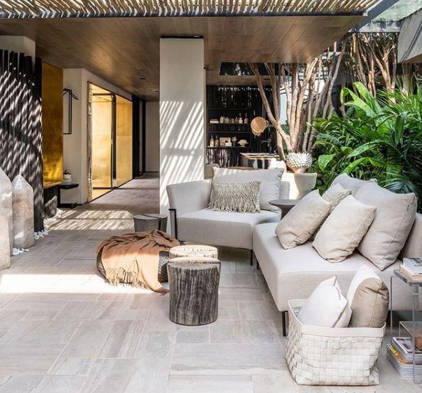 Mostra @casacor_oficial - Projeto @triart.arquitetura - Produto Pietra di Tibur 83x83